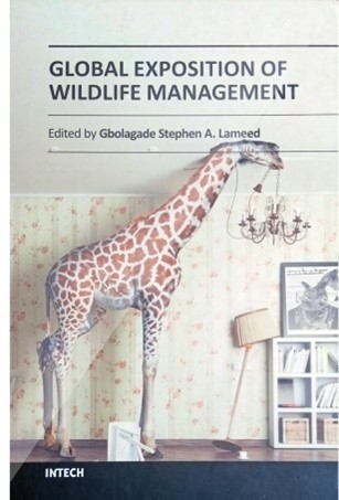 """Cover that says """"GLOBAL EXPOSITION OF WILDLIFE MANAGEMENT 