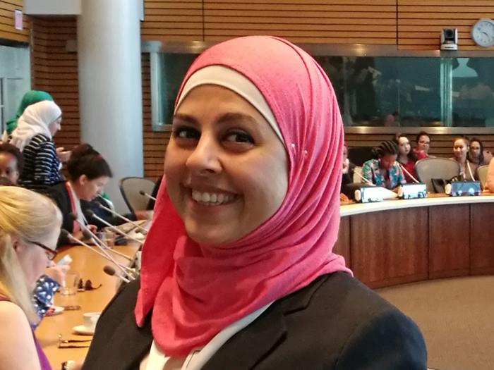 Photo of Rasha smiling